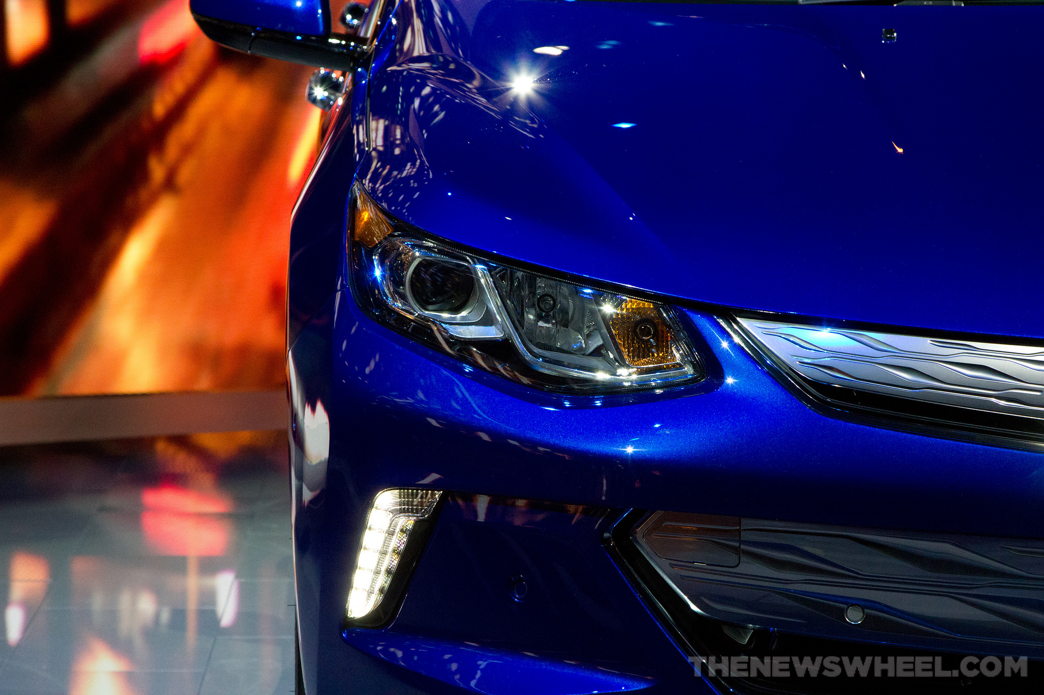 2016 Chevrolet Volt headlights