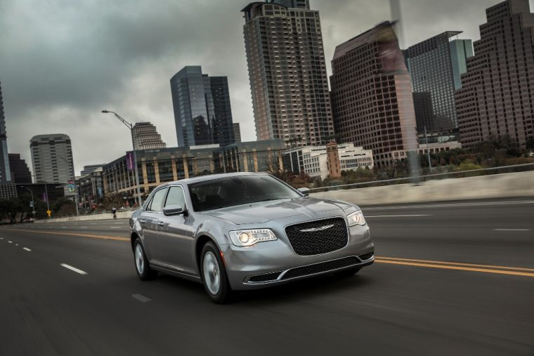 2016 Chrysler 300 Driving