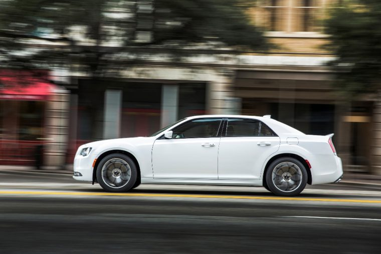 The 2016 Chrysler 300 features a 292 hp V6 engine