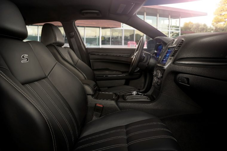 The 2016 Chrysler 300 comes standard with heated front seats