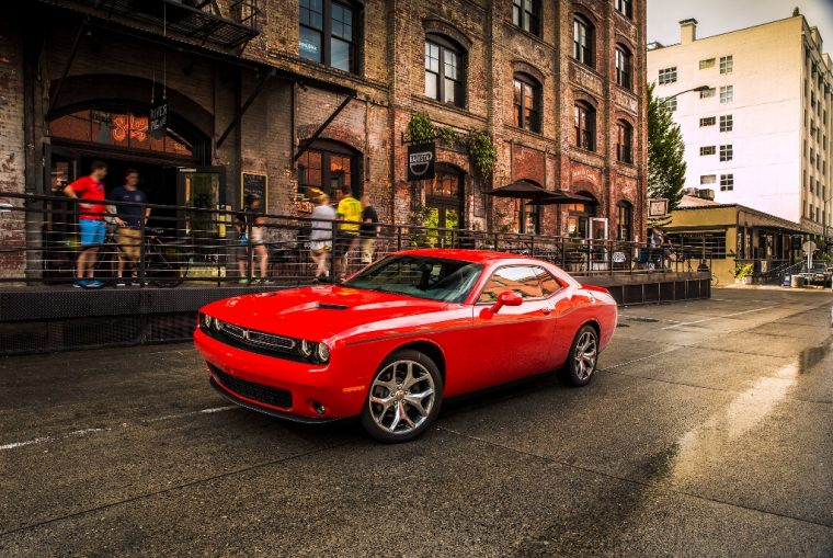 2016 Dodge Challenger Front Side View