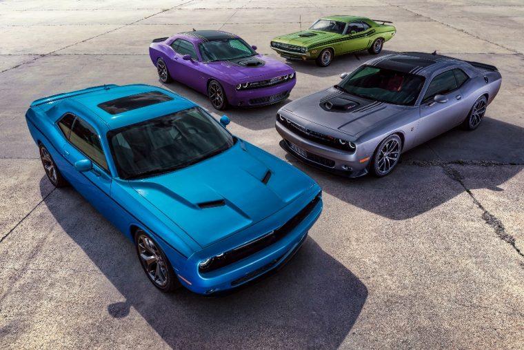 2016 Dodge Challenger Model Options