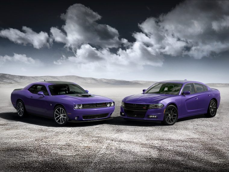 2016 Dodge Challenger And Charger Plum Crazy