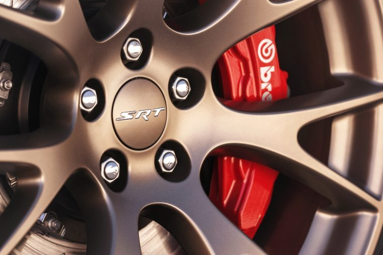 Brembo brakes are available for the 2016 Dodge Charger