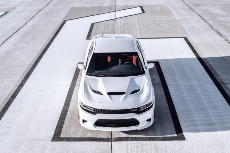 The 2016 Dodge Charger SRT® Hellcat features 707 horsepower engine