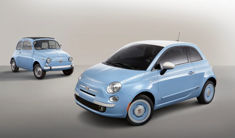 The 2016 Fiat 500 1957 edition features a 1.4-liter I-4 MultiAir 16-valve engine