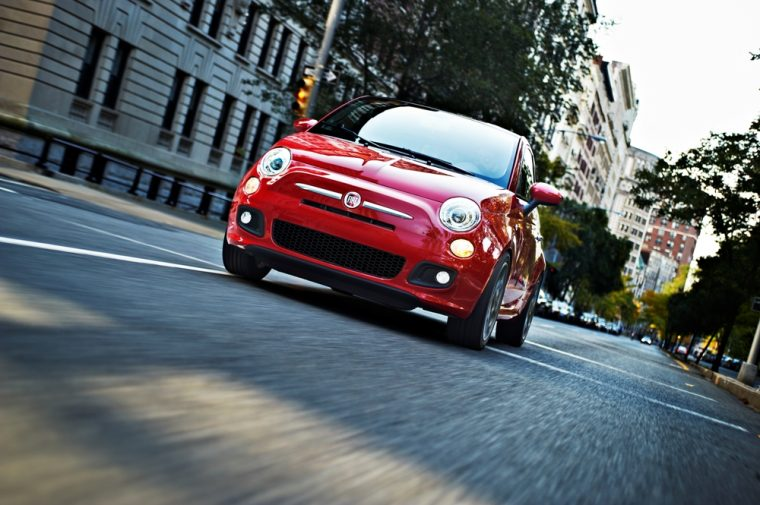 The 2016 Fiat 500 features a starting MSRP of $16,865