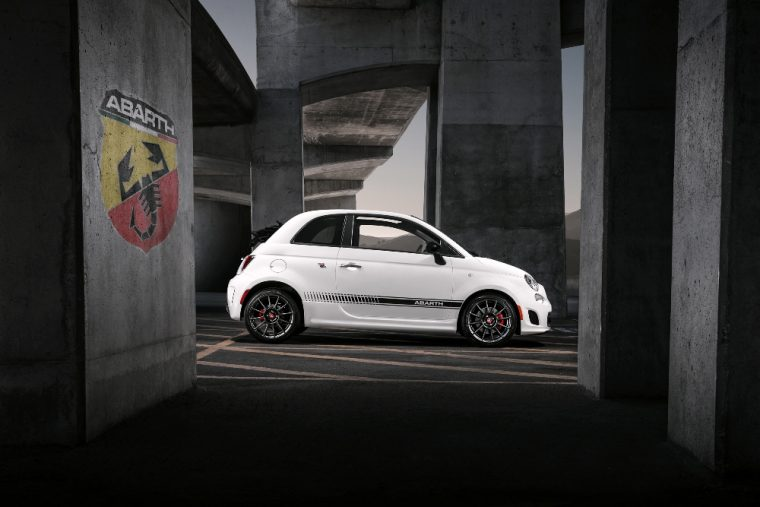 2016 Fiat 500 Abarth exterior (white)