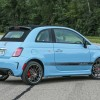 2016 Fiat 500 Abarth exterior (blue)