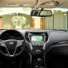 Interior of the robust 2016 Hyundai Santa Fe Sport