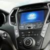Interior of the modernized 2016 Hyundai Santa Fe Sport