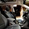 Interior of the roomy and comfortable 2016 Hyundai Santa Fe Sport