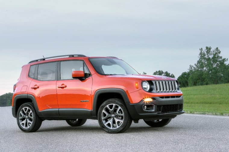 2016 Jeep Renegade Right Side