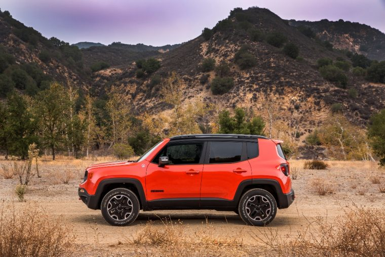 2016 Jeep Renegade Silhouette