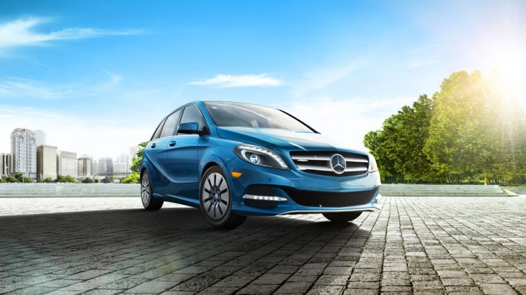 There are a number of exterior colors available for the 2016 Mercedes-Benz B-Class Electric Drive