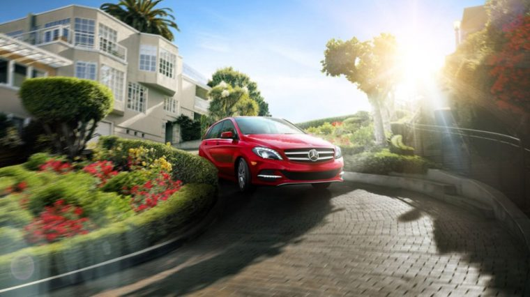 The 2016 Mercedes-Benz B-Class features a starting MSRP of $41,450
