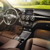 The 2016 Mercedes-Benz B-Class Electric Drive comes standard with a 3-spoke multifunction steering wheel