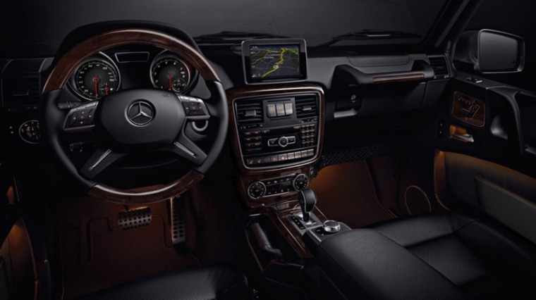 Automatic climate control is a standard feature for the 2016 Mercedes-Benz G-Class