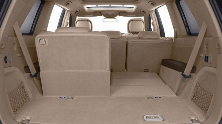 The 2016 Mercedes-Benz GL-Class comes with vast amounts of cargo space
