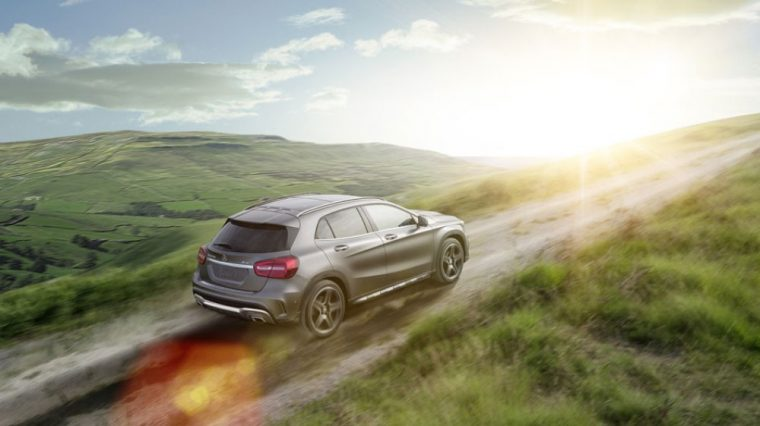 The 2016 Mercedes-Benz GLA is available with a 375 horsepower four-cylinder engine