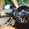 The 2016 Mercedes-Benz GLA comes standard with a 3-spoke multifunction steering wheel