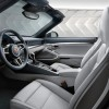 The 2016 Porsche 911 features additional storage behind rear seat backrests