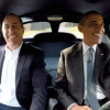"""Barack Obama and Jerry Seinfeld in a 1963 Chevy Corvette Stingray on """"Comedians in Cars Getting Coffee"""""""