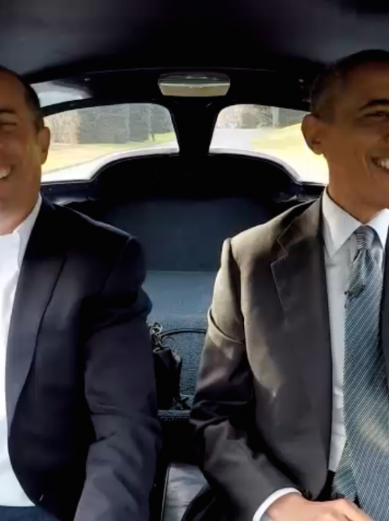 President Obama And Jerry Seinfeld Take Turns Driving A