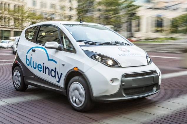 BlueIndy Car