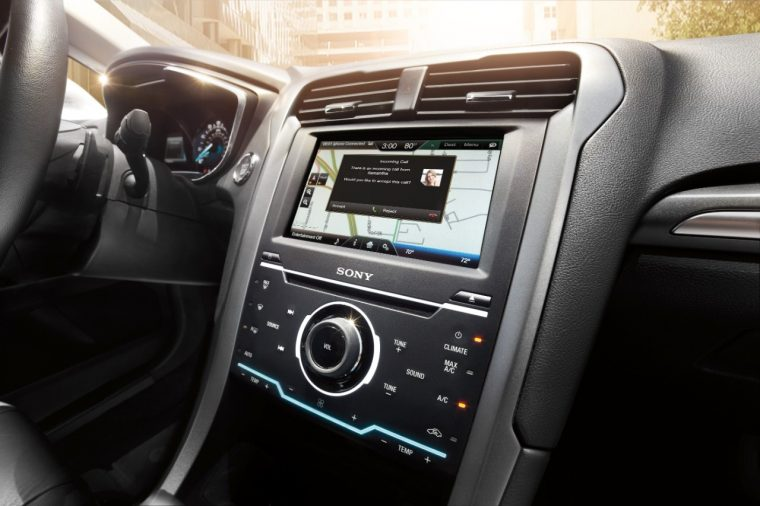 Ford SYNC with MyFord Touch