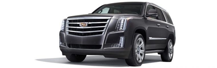 The 2016 Cadillac Escalade ESV comes with LED high-beam/low-beam headlamps