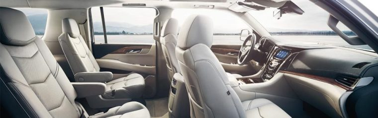 The 2016 Cadillac Escalade comes withLeather front passenger seats