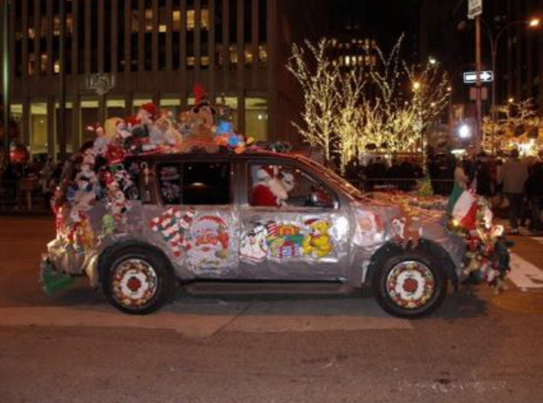 Christmas Car Decorations.The 5 Best Holiday Decorations For Your Car The News Wheel