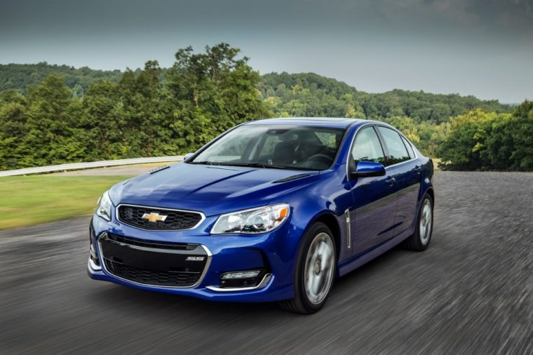 The 2016 Chevrolet Ss Comes Equipped With A 6 2 Liter V8 Sfi Engine Which
