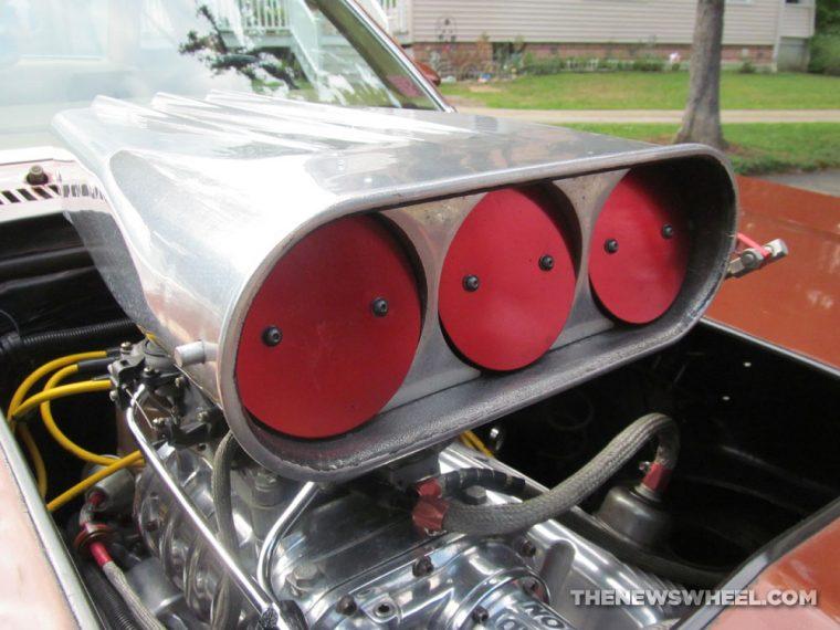 Classic 1978 Chevy Nova Coupe blower