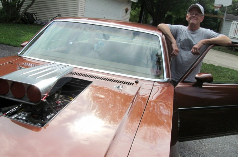 Classic 1978 Chevy Nova Coupe dad