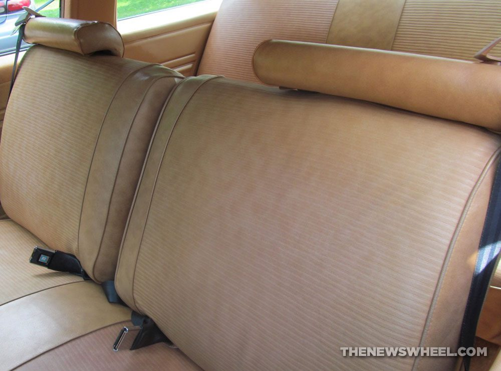 Classic 1978 Chevy Nova Coupe seats