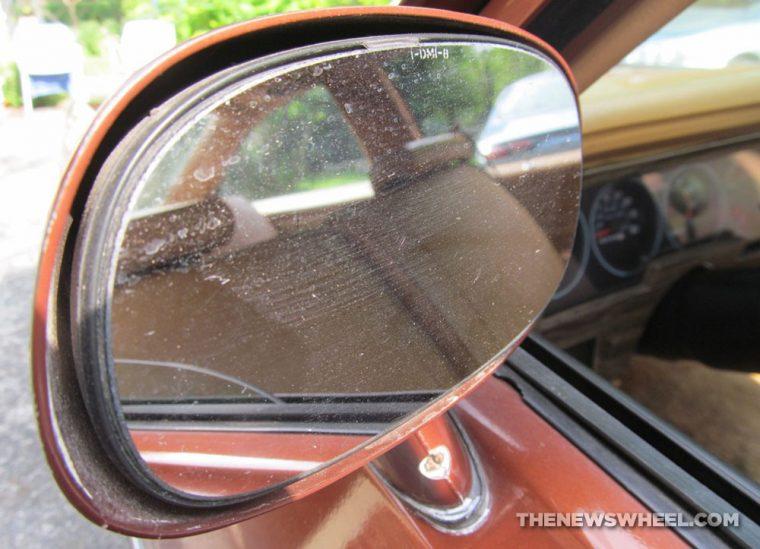 Classic 1978 Chevy Nova Coupe side mirror