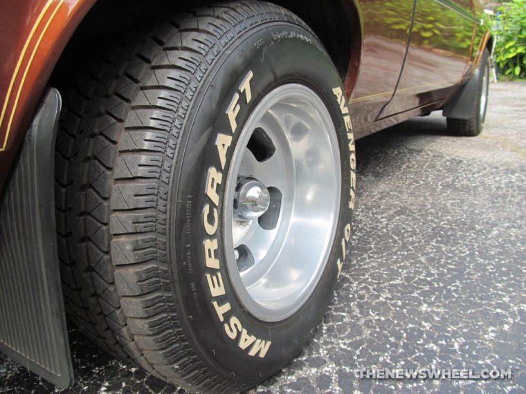 Classic 1978 Chevy Nova Coupe tire