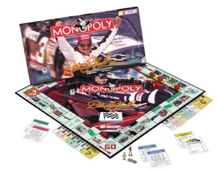 Dale Earnhardt Edition Monopoly board game