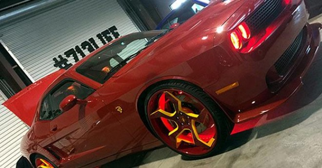 Dwight Howard's Dodge Hellcat features more than 700 horsepower