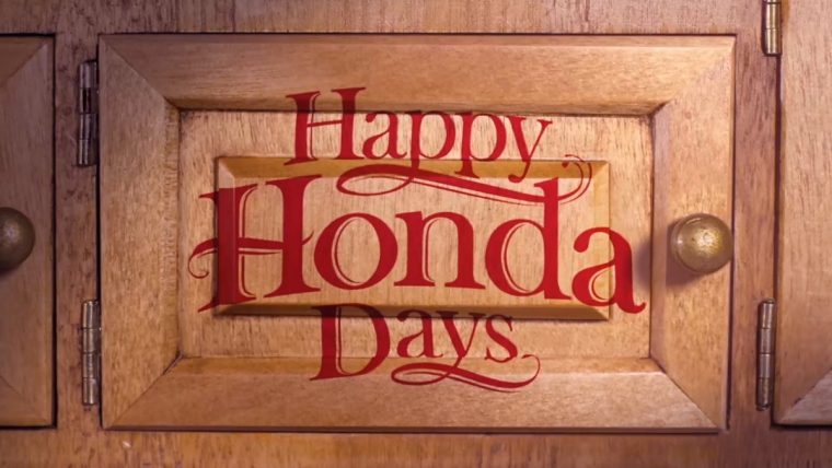 Happy Honda Days Twitter contest #OpentheCheer