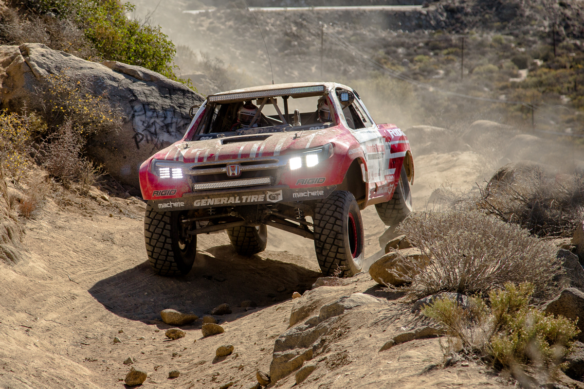 Honda Ridgeline Off Road >> Honda Ridgeline Baja Race Truck Completes First Baja 1000 - The News Wheel