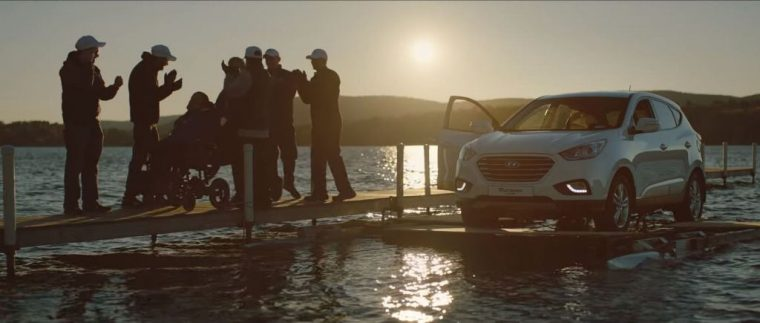 Hyundai Helps Son with Cerebral Palsy & His Father Complete First Car Triathlon dock