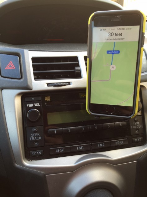 Bracketron O2 Earth Elements Smartphone Mount with Phone