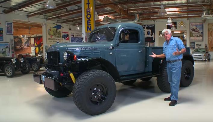 Dodge Power Wagon >> Jay Leno Drives Almost Invincible 1942 Dodge Power Wagon