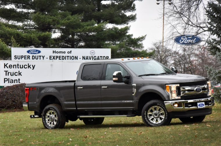 2017 Ford F-Series Super Duty production will take place at Kentucky Truck Plant