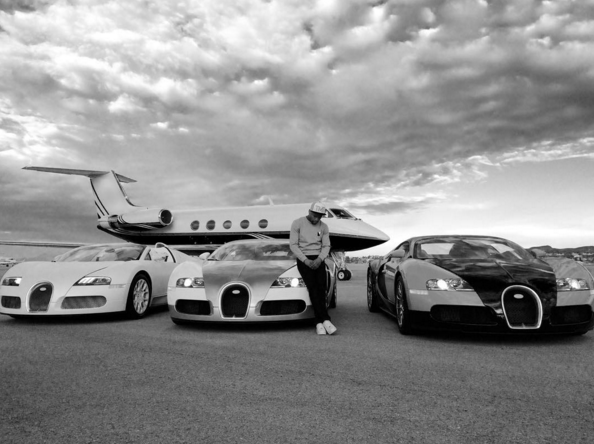 The ten best celebrity rides of the 2015 year