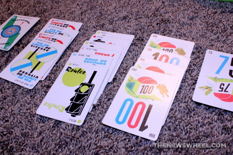 Mille Bornes French Card Game Review play