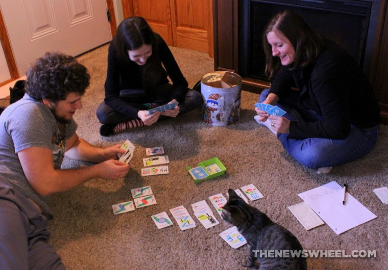Mille Bornes French Card Game Review test